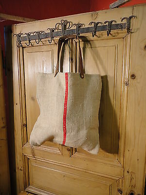 Antique European Grain Sack,Tote Bag, Book Bag,Ipad Bag,Purse.#4098