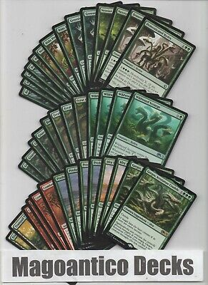 MAGIC MAZZO modern IDRA : EMERGONO dalle FORESTE per DEVASTARE - lotto mtgrr17