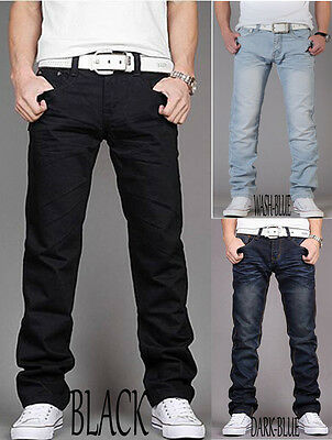 mens jeans slim fit fashion jeans trouser pants all sizes