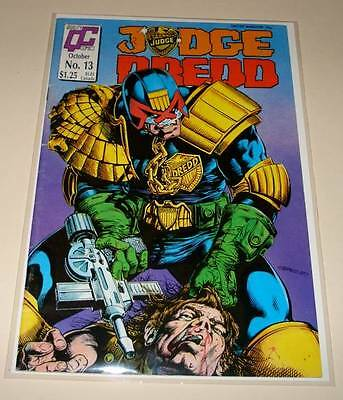 JUDGE DREDD # 13 Quality Comic  Oct 1987  FN/VFN