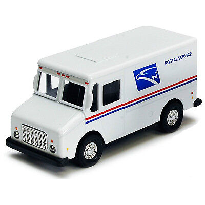 "New United States US Postal Service mail delivery 4.5"" diecast model truck USPS"