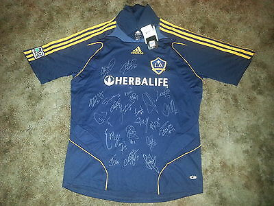 L.a. Galaxy Signed 2009 Adidas Mls Away Jersey