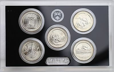 2010-D America the Beautiful Quarters 5-coin Set Mint State Uncirculated