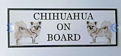 L/C Chihuahua On Board Car Sign