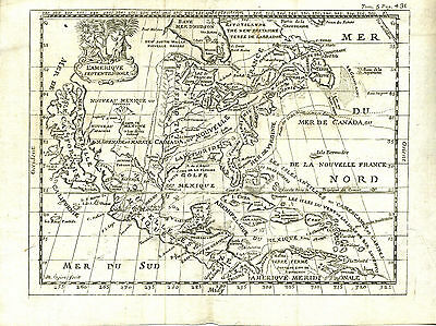 1690 Map of North and South America: With California as an Island   UACC PADA