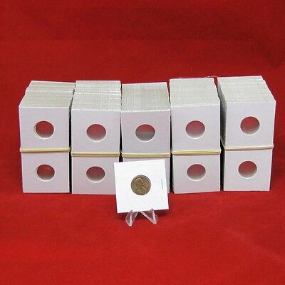 500 Cardboard 2x2 Mylar Coin Holders for Pennies
