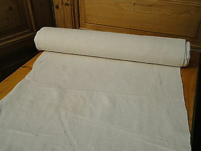 Homespun Linen Hemp/Flax Yardage 12 Yards x 24'' Roll  # 4243
