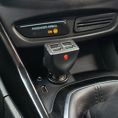 PortaPow 4.8A Dual USB Car Charger iPhone iPad Android Micro Twin 4 5 5S 6 6S
