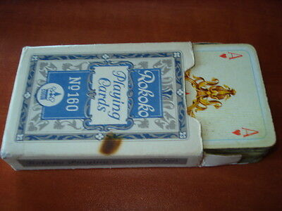 Vintage Original Germany G.d.r. Playing Cards Rokoko  #160/cardboard Box