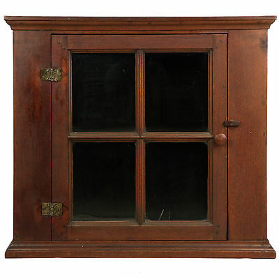 American Chippendale Walnut Cabinet Cupboard for Chest, Mid Atlantic c.1770-90