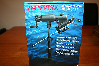 Danica Danvise Fly Tying Vice with Cam action 100% Rotating JawsTable edge Clamp