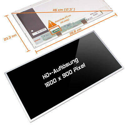 "B173RTN01.1 B173RTN01.2 B173RW01 V.0 V.1 V.3 V.4 V.5  LED Display 17,3"" glossy"