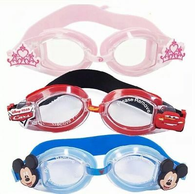 Disney PRINCESS PIXAR CARS MICKEY MOUSE Kids Swimming Goggles Swim Child GIFT