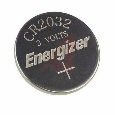 Lot of 100 Fresh Genuine Energizer ECR2032 3v Lithium Coin Batteries CR2032 2032