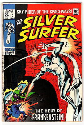 Silver Surfer #7 5.0 Off-White To White Pages Silver Age