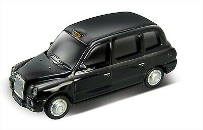 1:72 Die Cast Metal London Taxi TX4 USB Flash Drive 8GB (Black)
