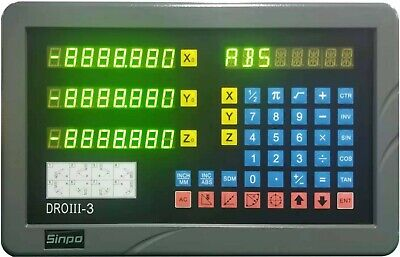 "3- axis digital readout kit for 9X42"" Bridgeport mill (ISO9001 quality)"