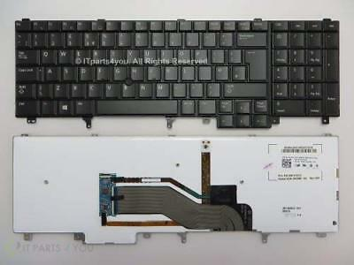 NEW DELL LATITUDE E6520 E6530 E5520 E5530 ENGLISH Backlit Keyboard 20JHY / 7T433