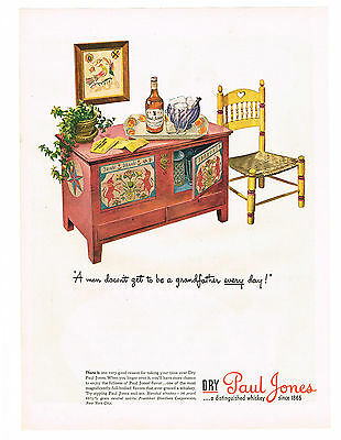 1944 Advertisement Dry Paul Jones Blended Whiskey