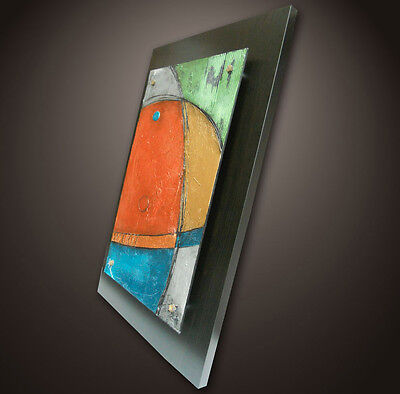Sculpture ORIGINAL MODERN ABSTRACT ART LARGE CONTEMPORARY PAINTING SaVaRiNo Wood