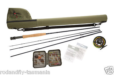 FLY FISHING COMBO ENTRY-INTERMEDIATE LEVEL #5/6 Hi-End