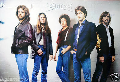 "THE EAGLES ROCK BAND PAPER POSTER 23""x34"""