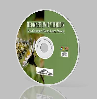 Law Of Attraction Complete Pack CD - Love, Confidence, Wealth, Power, Success!