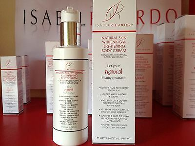 BODY WHITENING & LIGHTENING BLEACHING CREAM STRONGEST & SAFEST ON EBAY 200ml