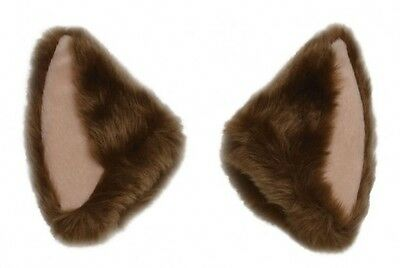 Neurosky Necomimi Brainwave Cosplay Furry Brown Cat Ears Cover