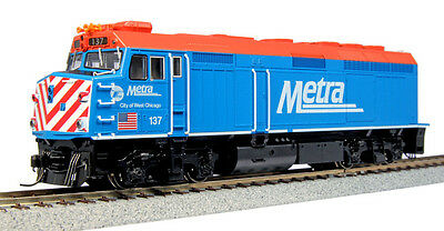 "Kato 37-6571 HO F40PH Metra ""City of West Chicago"" #137"