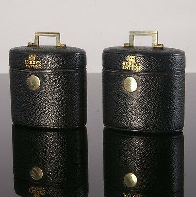 Magnificent Victorian Travelling Inkwell and Vesta Case