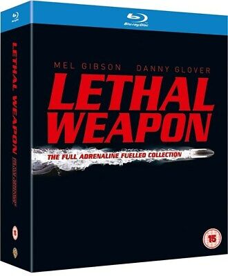 LETHAL WEAPON COLLECTION [Blu-ray 5-Disc Set] Complete Box Set All 4 Movies 1-4