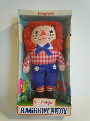 "Vintage Knickerbocker The Original Raggedy Andy 6"" Inch Doll In Original Package"