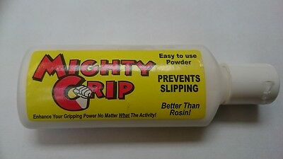 MIGHTY GRIP POWDER - Prevents fingers Slipping, As used by Professionals