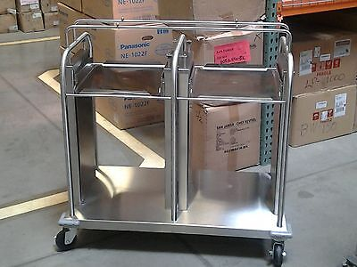Delfield TT2-1418C Mobile Open Frame Tray And Rack Dispensers