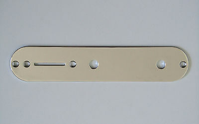 Tele Style Electric Guitar Control Plate Chrome for Telecaster Guitar