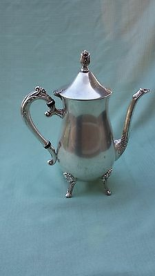 VINTAGE LEONARD SILVERPLATE COFEE AND TEA POT