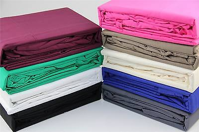 Double Bed 375Thread Cotton Fitted Sheet