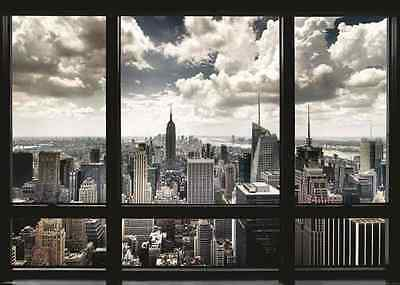 XXL-Poster Riesig New York Window 140 x100 cm