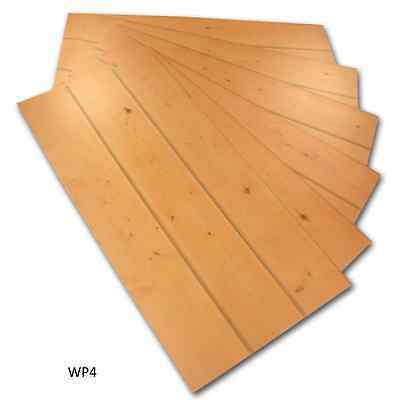 Knotty Suspended Ceiling Tiles Panels Wood Grain Rustic Lay In drop Lot of 6 New