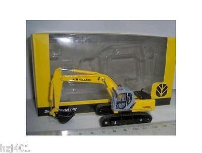 1/87 NEW HOLLAND E215B EXCAVATOR shovel crane MINT IN BOX METAL DIECAST