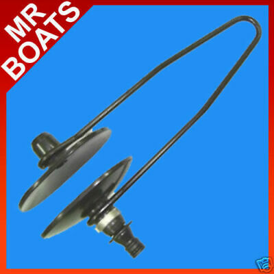OUTBOARD FLUSHER ✱ LARGE OVAL ✱ Suits Outbards Sterndrives QUALITY FREE POSTAGE