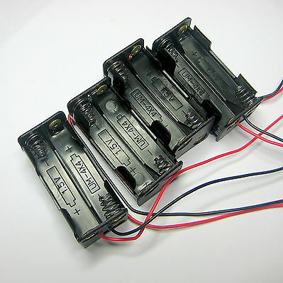 RC RX BATTERY BOXES AAA 4 CELLS Plug Choice ANY 4
