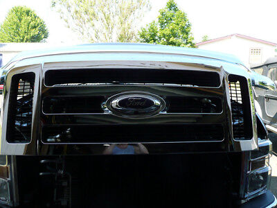 Ford F150, F250, F350 FRONT camera - OE fit, replaces factory grille emblem!