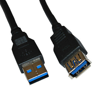 6Ft. (6 Feet) USB 3.0 SuperSpeed Male A to Female A Extension Cable USB3-6MF-G