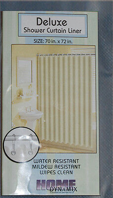 "70"" x 72"" Set of 2 Deluxe Shower Curtain Liner (19 Colors)"