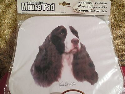 SPRINGER SPANIEL   ~  MOUSE PAD by WINTER CHURCHILL