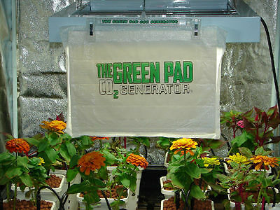 The Green Pad Co2 Generator, 5 Pack - No Co2 Regulator or Co2 tank needed