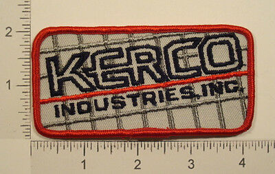 KERCO INDUSTRIES Inc. Iron On Embroidered PATCH