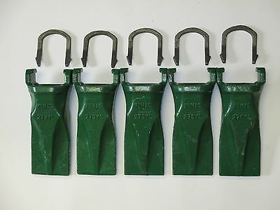 27SYL 5 Pack H&L Style Bucket Tooth/Bucket Teeth & 5 27LK Horseshoe Locks